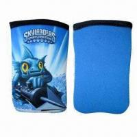 China Neoprene Sleeves for Mobile Phones and iPhone with Heat-transfer Printed Designs on sale