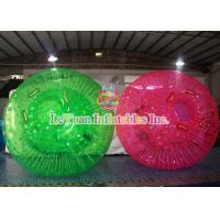 Buy cheap High Quality Inflatable Colorful Grass Body Zorb Ball ,  Knocker Ball Sports Games from wholesalers