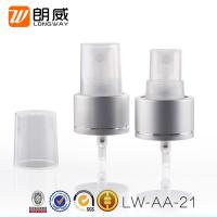 Buy cheap Cosmetic Usage Fine Mist Sprayer , Aluminum 24/410  Fine Mist Paint Sprayer from wholesalers