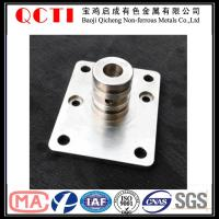 Buy cheap Anodized factory titanium machine parts for industrial from wholesalers