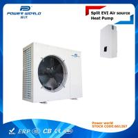 Buy cheap Air To Water Split EVI Heat Pump For Underfloor Heating / Plate Heat Exchanger For Indoor Unit from wholesalers