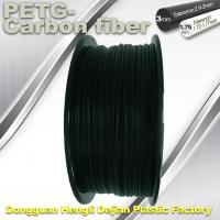 Buy cheap High Strength Filament 3D Printer Filament 1.75mm PETG - Carbon Fiber Black product