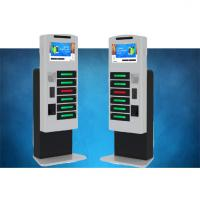 Buy cheap Fast Charging High Secure Cell Phone Charging Stations For Tablet Pc With LCD from wholesalers