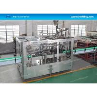 Buy cheap 3 in 1 Carbonated Drink Filling Machine , Automatic Soda Water Filler Capper Machine from wholesalers