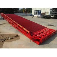 Buy cheap 11050 Mm Total Length Mobile Yard Ramp Single Safety Fence Design For Container from wholesalers