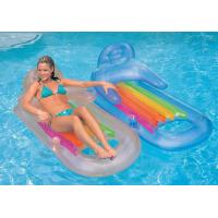 Buy cheap inflatable floating sofa chair, inflatable water bed sofa from wholesalers