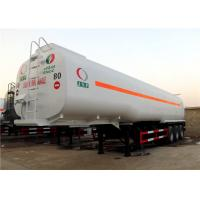 Buy cheap 60M3 Oil Transport  Tanker Semi Trailer , Fuel Tank Trailer Heavy Duty 3 Axle 60000L from wholesalers