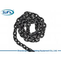 Buy cheap Black Alloy Steel Lifting Accessories For Cranes Grade 80 Lifting Chain from wholesalers