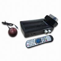 Buy cheap Mini SCART HD DVB-T Receiver with Swivel Function, HDMI Output and USB PVR  from wholesalers