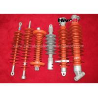 Grey / Red Silicone Rubber Insulator , Silicone Composite Insulators With CE / SGS