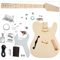Buy cheap TL Type DIY Electric Guitar Kits Maple neck Guitar with F Hole On The Top AG-TL4 from wholesalers