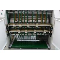 Buy cheap Rigid Box Automatic Grooving Machine No Dust Energy Saving Smooth Surface from wholesalers