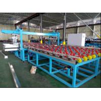 Buy cheap Horizontal Automatic Glass Seaming Machine , Four Side Glass Processing Plant from wholesalers