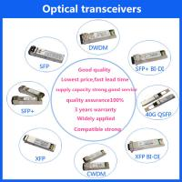 Buy cheap 155M 1.25G 10g copper sfp Module /40G/100G/120G sfp+ DAC cable and AOC cable QSFP+/SFP+/CXP/CFP fiber optic transceiver product