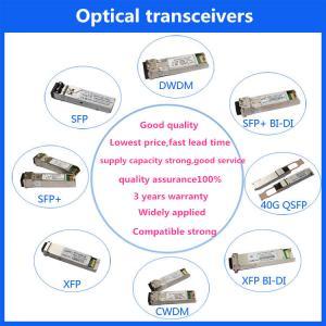 Buy cheap SFP MODULES 1.25Gbps SFP Optical Transceiver 10km LR 1G Dual Fiber product