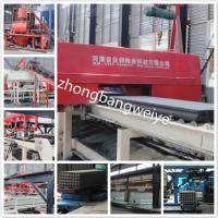 China hot selling JQT fully automatic Precast concrete hollow core panel production line process on sale