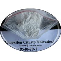 Buy cheap Oral Anti Estrogen Tamoxifen Citrate / Nolvadex For Breast Cancer Treatment CAS 10540-29-1 from wholesalers