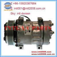 Buy cheap auto ac Compressor SD7H15 4494 4891 20501069 8088112 for New Kenworth Peterbilt Volvo from wholesalers