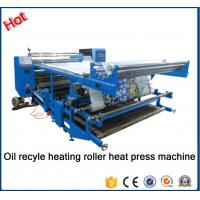 Buy cheap New type Oil recyle heating roller press machine\Blanket fabric printing heat transfer machine for fabric factory26A from wholesalers