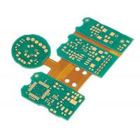 Buy cheap Immersion Gold Rigid Flex Circuit Boards Green Pcb Board IPC Class3 Standard from wholesalers