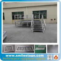Buy cheap  Aluminum used mobile stage with plywood platform stage deck from wholesalers