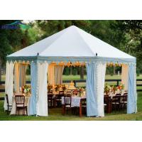 Buy cheap Flame Retardant High Peak Tent For Conference With Wooden Floor from wholesalers