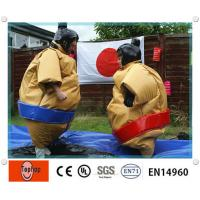 Buy cheap Entertainment Inflatable Sports Games , Inflatable Sumo Wrestling Suits For Kids And Adults from wholesalers