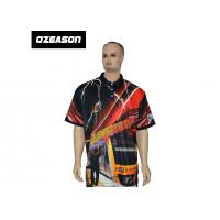 Buy cheap Free Design All Over Sublimation Printed Colorful Golf T-Shirt from wholesalers
