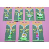 China Cute Cartoon Shaped Soft PVC Zipper Pullers for Custom Promotional Gifts on sale