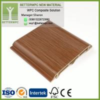 China Foam Board Exterior Wall Cladding PVC Vertical Composite Siding Outdoor WPC Wall Panels on sale