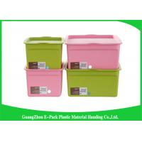 Buy cheap Customized Hard Clear Plastic Storage Box with Logo Eco - Friendly from wholesalers