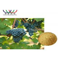 Buy cheap 5% Viniferin Red Grape Skin Extract , Grape Vine Extract Anti Inflammation from wholesalers
