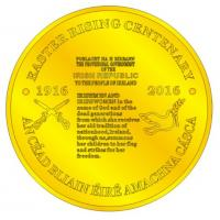 Buy cheap China high quality Irish coin in gold plated coin / gold replica coins from wholesalers