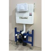 Buy cheap Plastic water tank,Wall Hung Toilet Hidden Cistern , Dual flush WC Concealed Cistern KDR-011H from wholesalers