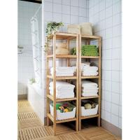 Buy cheap new bamboo bathroom towel shelves from wholesalers