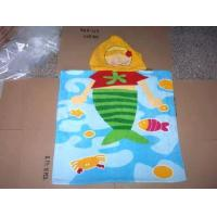 Buy cheap Kids Hooded Poncho Towel for Tesco from wholesalers