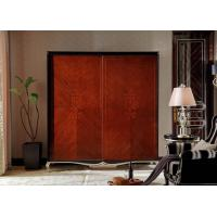 Buy cheap Bespoke Wardrobe closets for Villa house luxury furniture by Ebony wood in Glossy painting with Soft doors factory direc from wholesalers