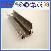 Buy cheap supply aluminum channel extrusion anodized, 6063 aluminum extrusion profiles for stair from wholesalers
