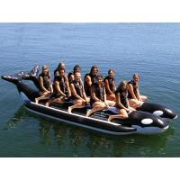 Buy cheap High Quality Large Inflatable Whale Boat For Many Persons , Inflatable Water Games from wholesalers