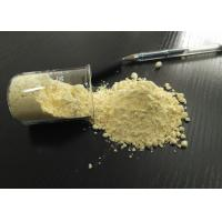 Buy cheap Wear Resistance Phenol Novolac Powder , Light Yellow Powder Thermosetting Polymers from wholesalers