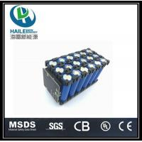 Buy cheap 12V 24Ah Li-ion rechargeable LED lamp battery pack from wholesalers