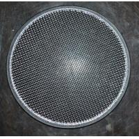Buy cheap 304 Round Stainless Steel Filter Screen , Filter Discs , Edge Treated from wholesalers