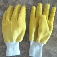 Buy cheap Industiral working latex coated gloves from wholesalers