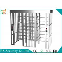 Buy cheap Anti-static Intelligent Full Height Turnstile Suitable Enterprise Managerment from wholesalers