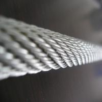 China 6x37 AISI Galvanized Steel Wire Rope with Diameter 3mm on sale