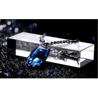 Buy cheap Clear Crystal Glass Acrylic Counter Display Stands For Jewelry Show In Shop from wholesalers