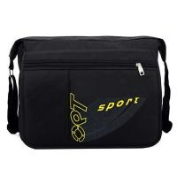 Buy cheap Professional Black Travel Messenger Bags With Backpack Straps Recycled Material from wholesalers
