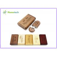Buy cheap Photography Gift Wooden USB Flash Drive , Custom Logo Bamboo USB Memory Drive from wholesalers