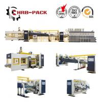 Buy cheap 2018 hot sale HRB PACK Flexo Printer slotter Rotary Die Cutter Folder Gluer  Machine for Corrugated Carton Box from wholesalers