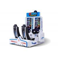 Buy cheap Arcade Simulator Ticket Redemption Machine Two Seats Two Players For Game Center from wholesalers